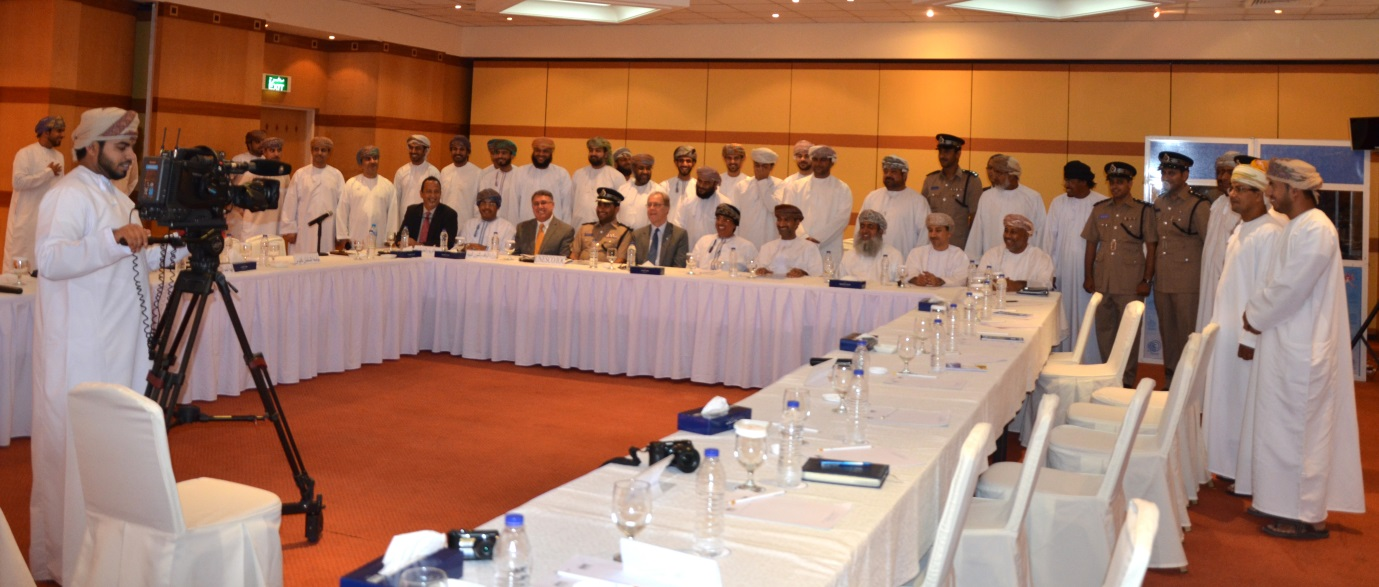 Opening of the 2nd SOP Workshop for the Oman National Multi-Hazard Early Warning System, 8-9 June 2014, Muscat - Oman Photo by Mr. Ibrahim al Barsdi of DGMAN, Oman